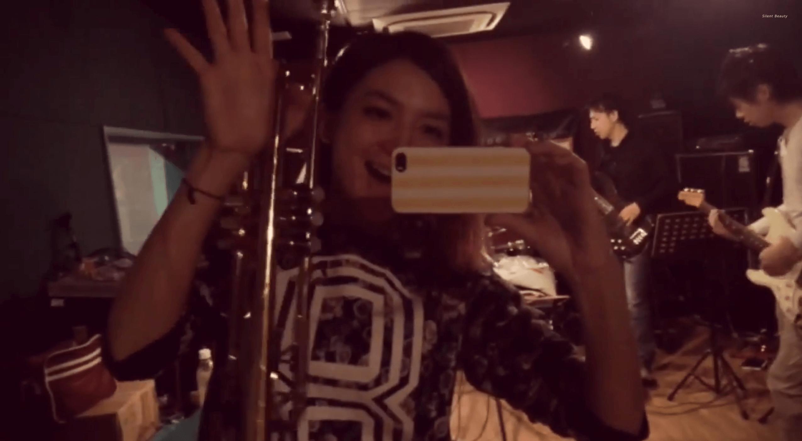 ChihiroYamazaki+ROUTE14band-rehearsal
